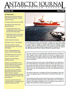 Browse Antarctic Journal of the United States (1966-1996)